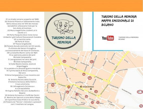 Mappa Emozionale realizzata da Roberto Colella